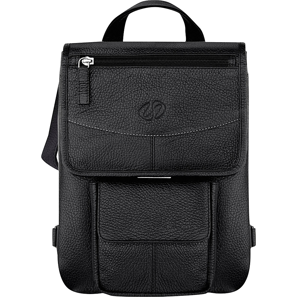 MacCase Leather iPad Flight Jacket - Black - Work Bags & Briefcases, Non-Wheeled Business Cases