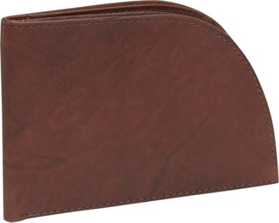 Rogue Wallets Wallet - Satin Leather - Brown Satin