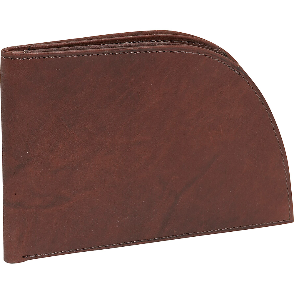 Rogue Wallets Wallet Satin Leather Brown Satin