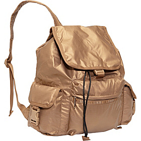 Voyager Backpack (Patent) Bronze Lightning