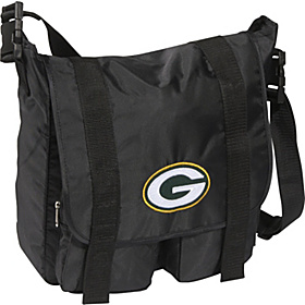 Green Bay Packers Sitter Diaper Bag Black