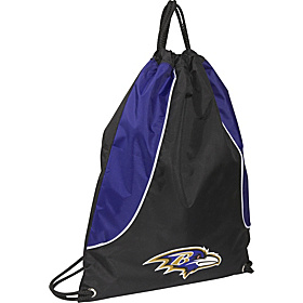 Baltimore Ravens String Bag Baltimore Ravens Purple