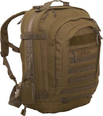 SOC Gear Bugout Bag - 600 Denier Poly/Canvas - Coyote Brown Coyote Brown, Coyote Tan - SOC Gear Travel Backpacks