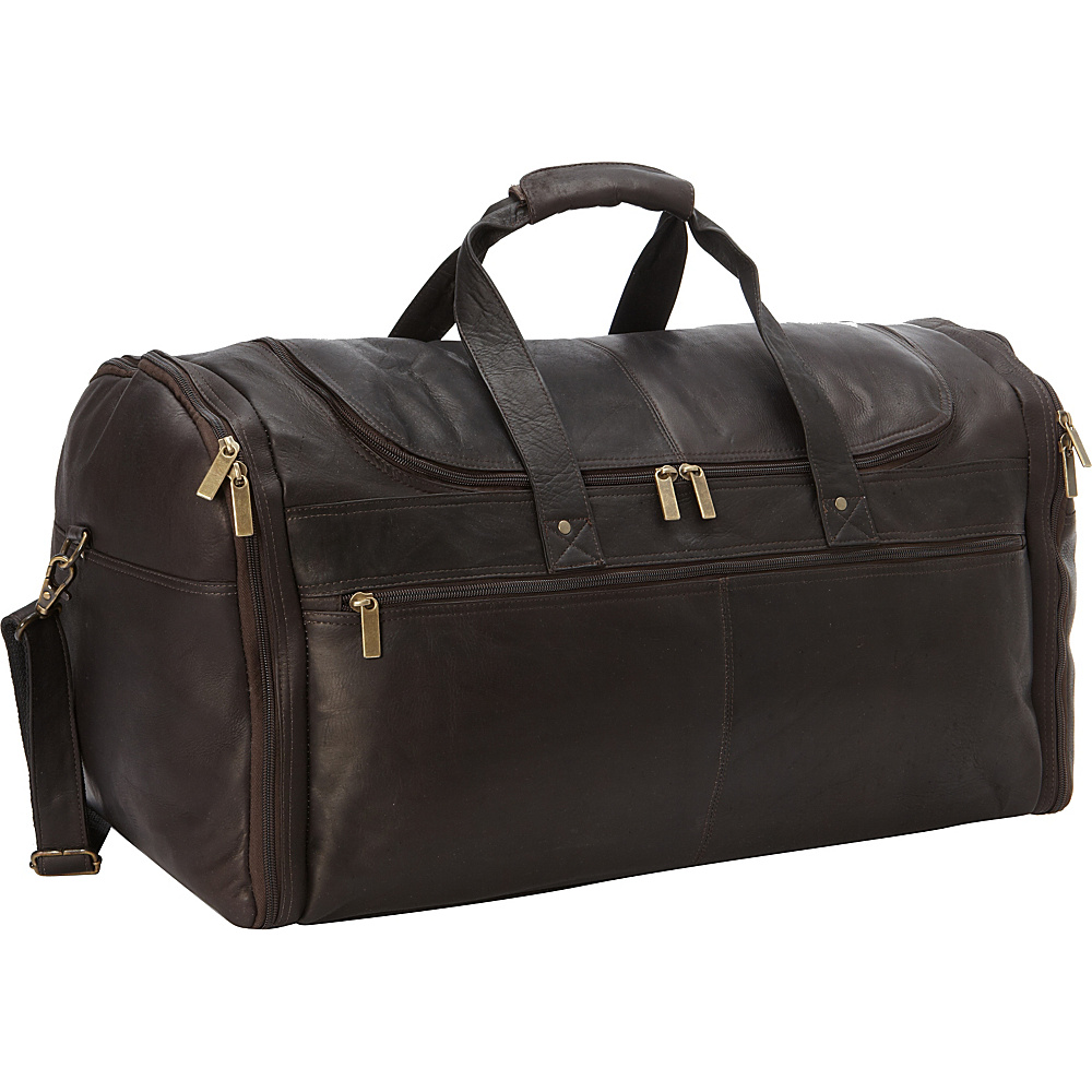David King Co. Extra Large Multi Pocket Duffel Cafe David King Co. Travel Duffels