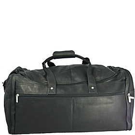 Extra Large Multi Pocket Duffel Black