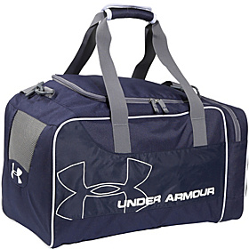 UA Dauntless Duffle Midnight Navy / Graphite / White / White