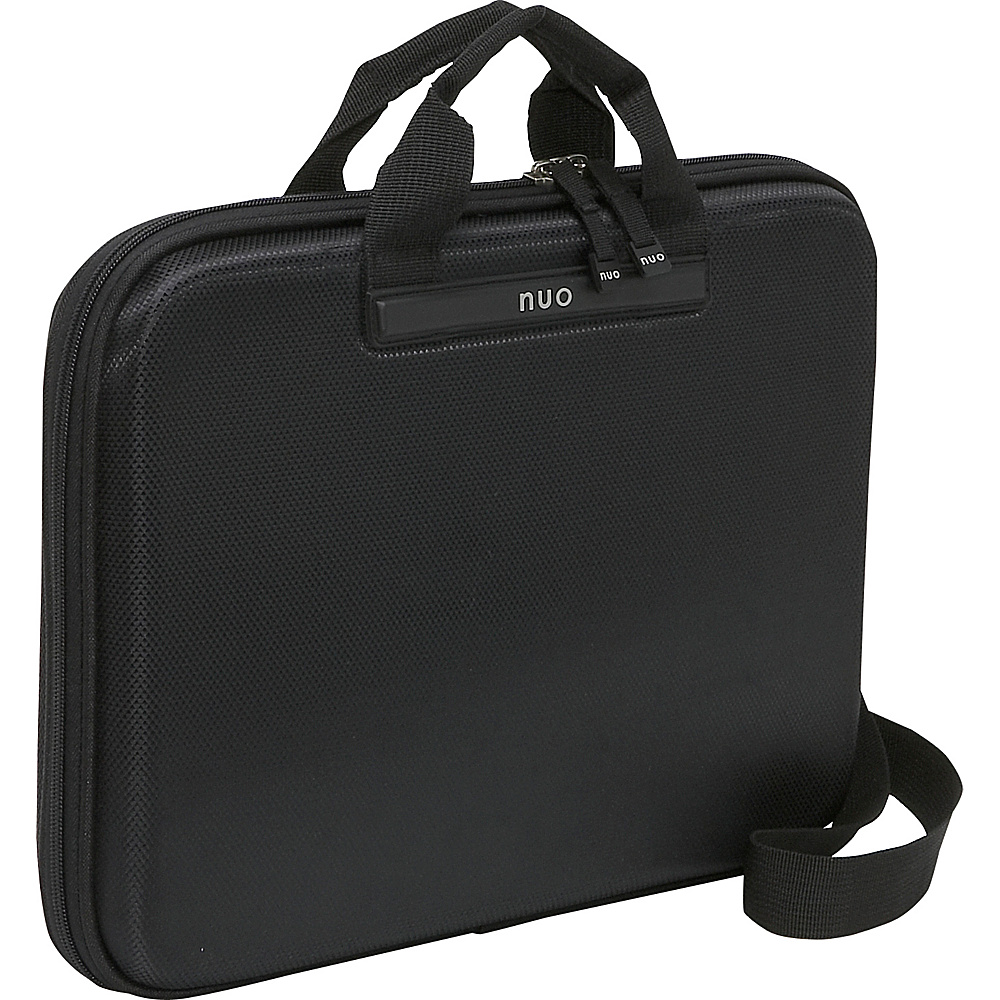 Nuo Slim Laptop Brief - Black - Work Bags & Briefcases, Non-Wheeled Business Cases