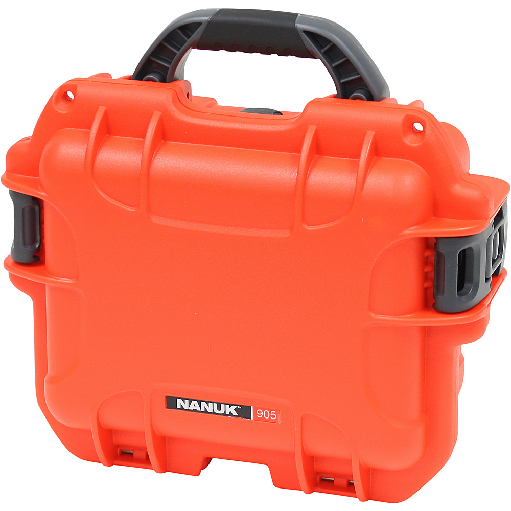 NANUK 905 Case w/padded divider - Orange - Technology, Camera Accessories