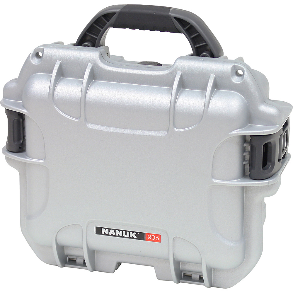 NANUK 905 Case w/padded divider - Silver - Technology, Camera Accessories