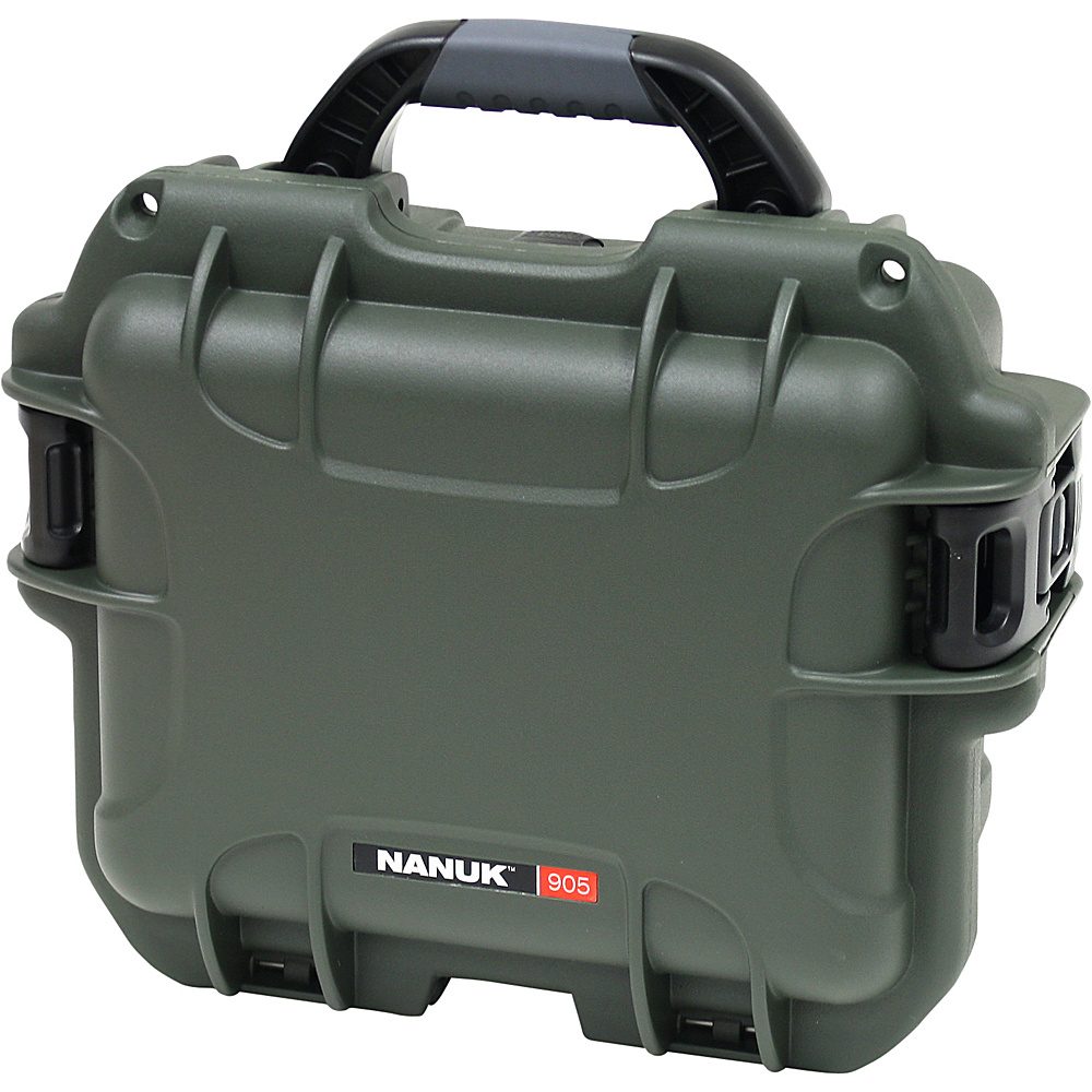 NANUK 905 Case w/padded divider - Olive - Technology, Camera Accessories