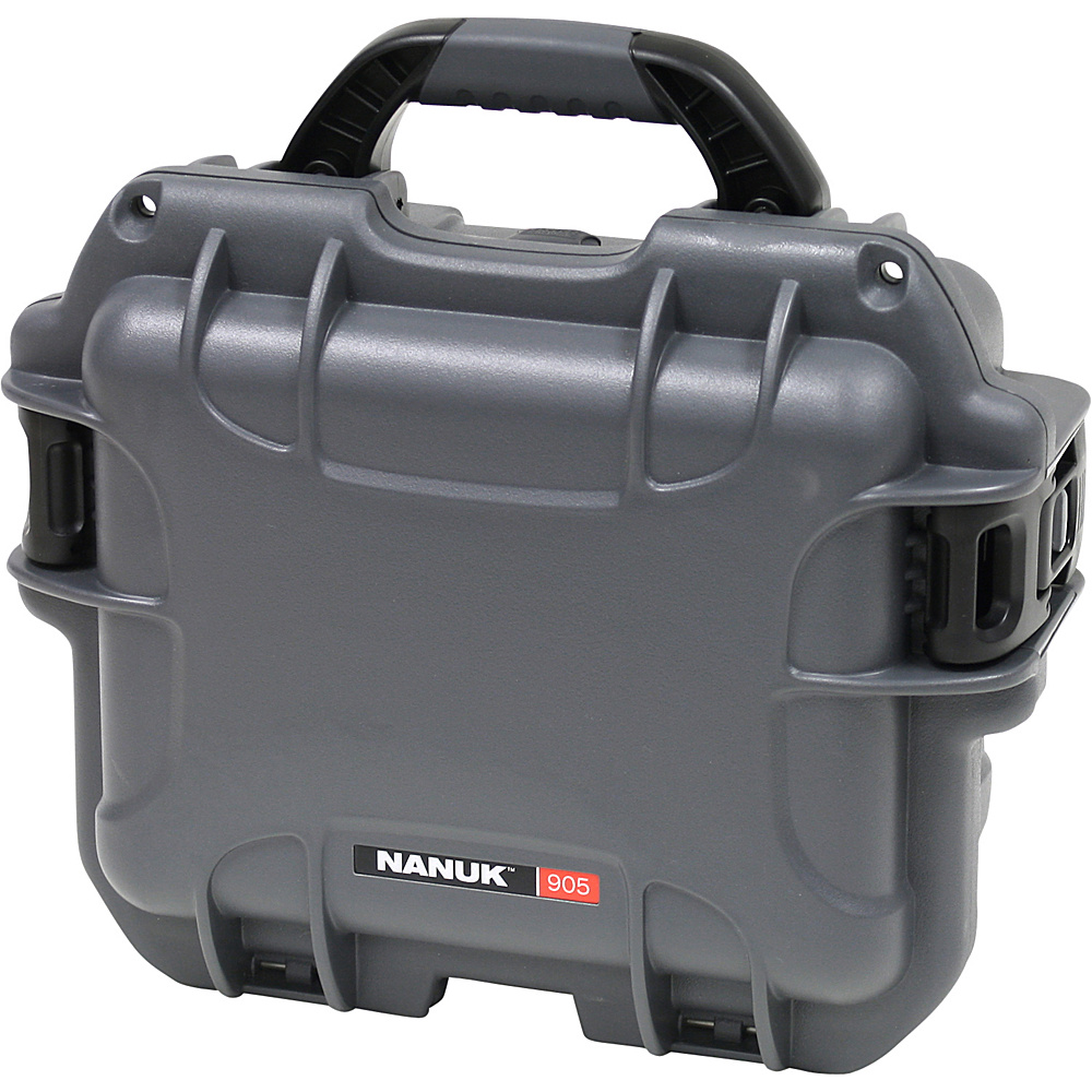NANUK 905 Case w/padded divider - Graphite - Technology, Camera Accessories