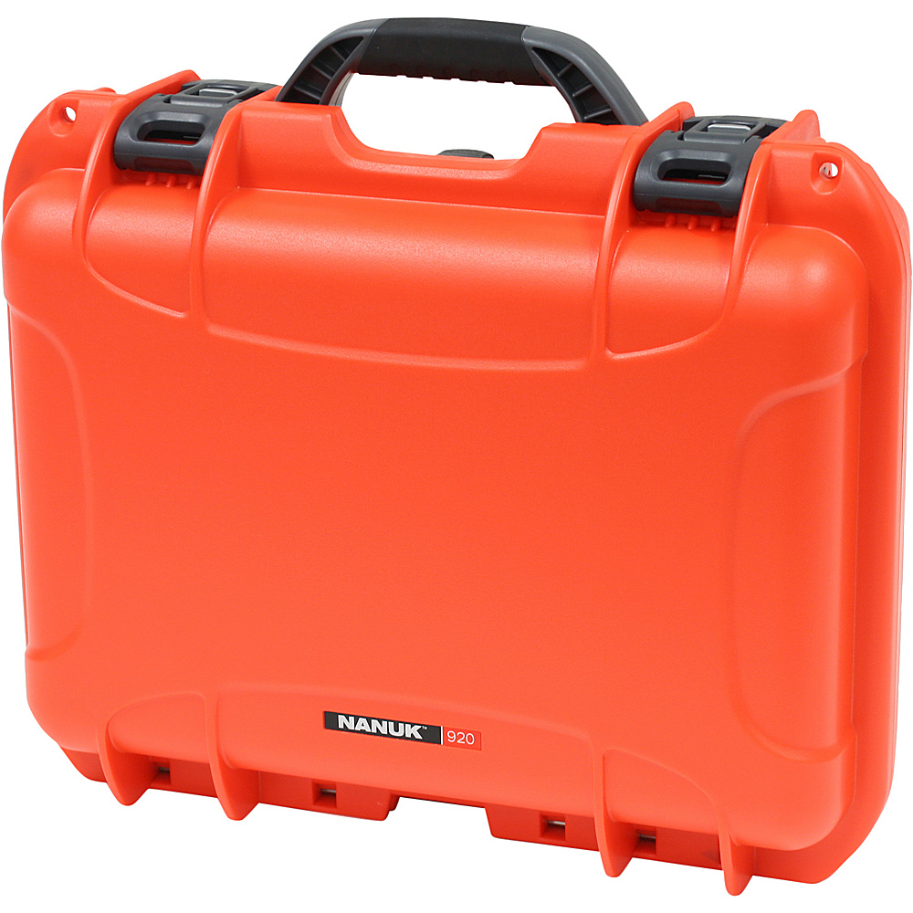 NANUK 920 Case w/padded divider - Orange - Technology, Camera Accessories