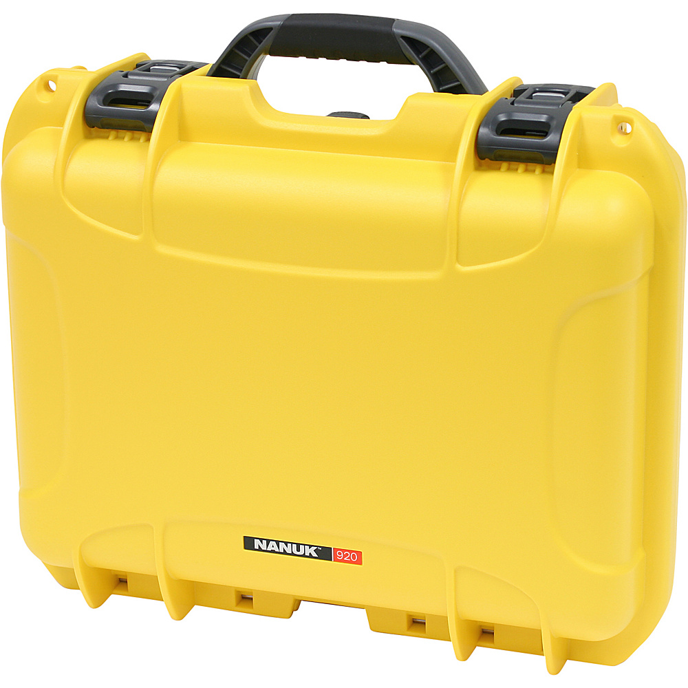 NANUK 920 Case w/padded divider - Yellow - Technology, Camera Accessories