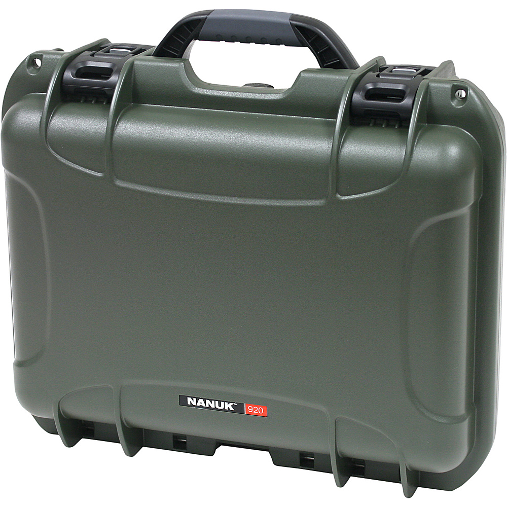 NANUK 920 Case w/padded divider - Olive - Technology, Camera Accessories