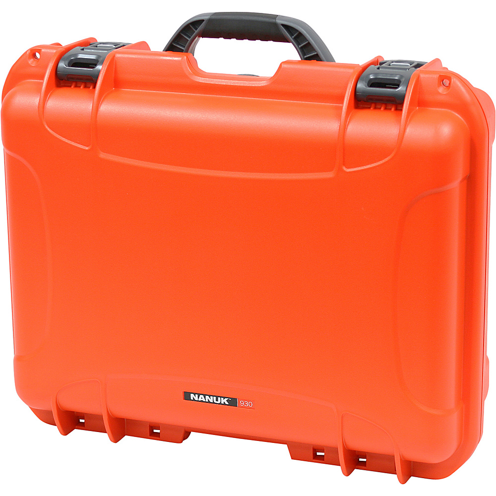 NANUK 930 Case w/padded divider - Orange - Technology, Camera Accessories