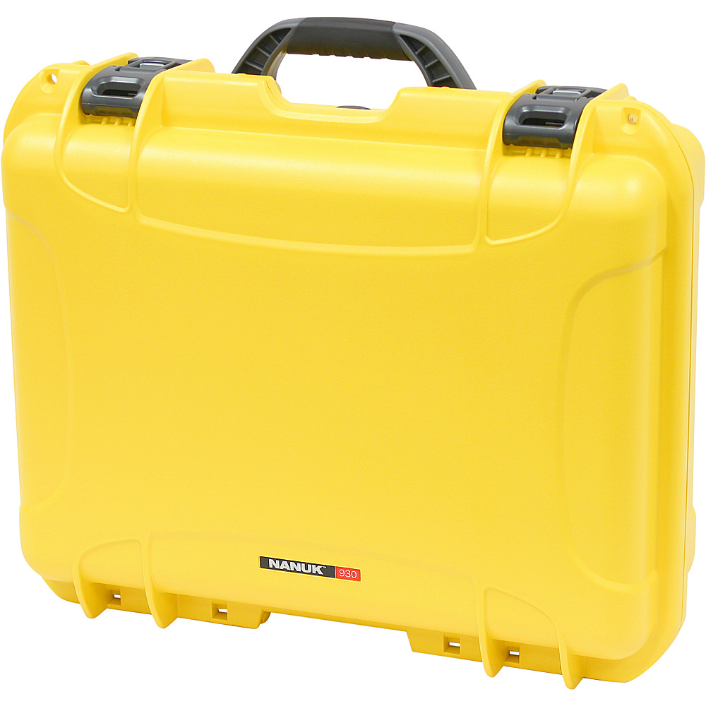 NANUK 930 Case w/padded divider - Yellow - Technology, Camera Accessories