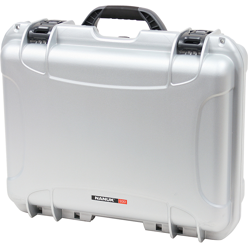 NANUK 930 Case w/padded divider - Silver - Technology, Camera Accessories