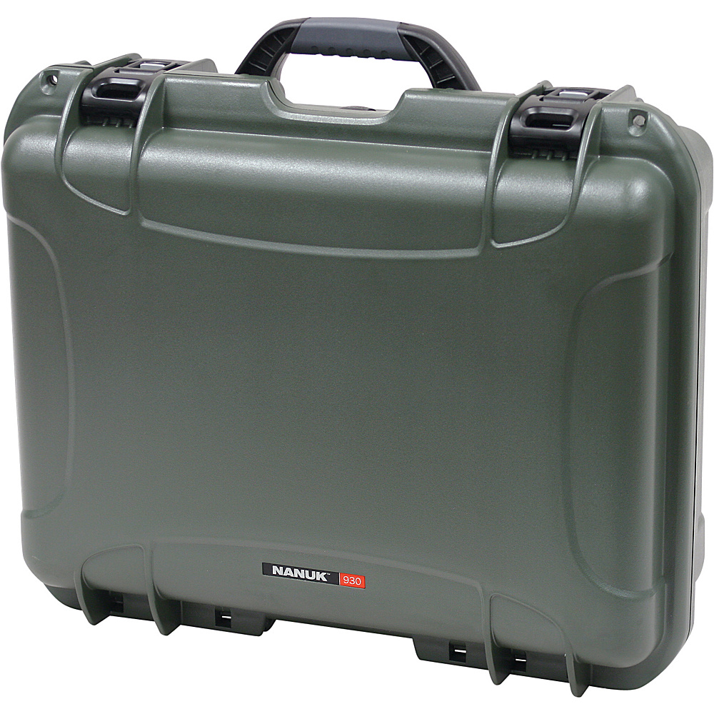 NANUK 930 Case w/padded divider - Olive - Technology, Camera Accessories