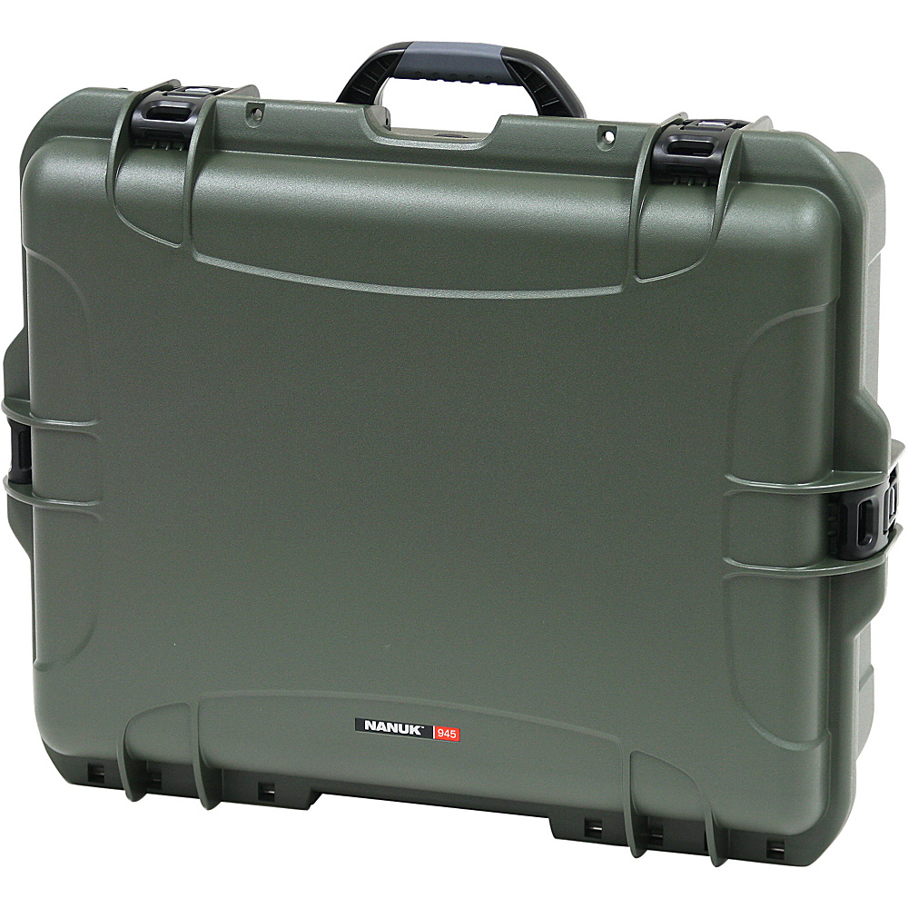 NANUK 945 Water Tight Protective Case w/Padded Divider Olive - NANUK Camera Accessories - Technology, Camera Accessories