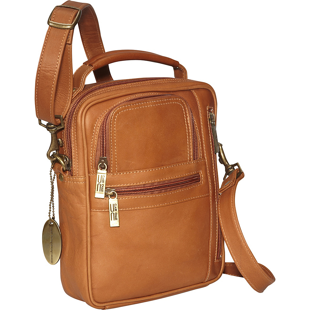 ClaireChase Medium Man Bag - Saddle - Work Bags & Briefcases, Other Men's Bags