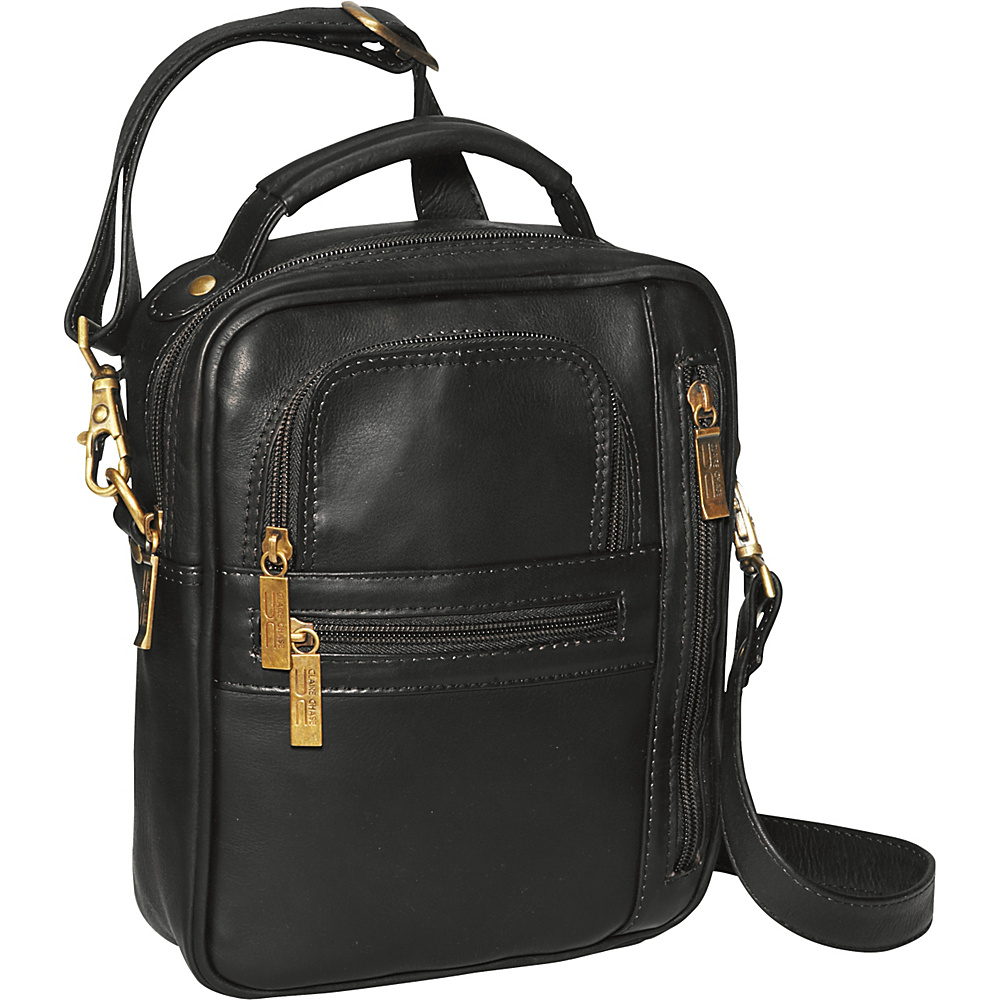 ClaireChase Medium Man Bag - Black - Work Bags & Briefcases, Other Men's Bags