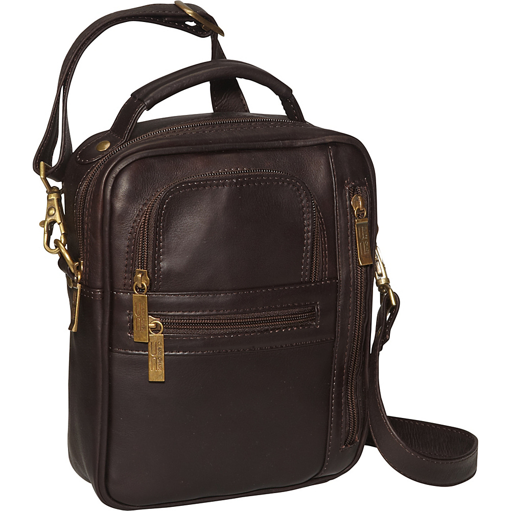 ClaireChase Medium Man Bag - Cafe - Work Bags & Briefcases, Other Men's Bags