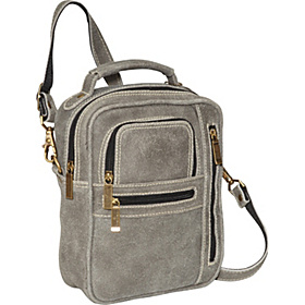 Medium Man Bag Distressed Grey