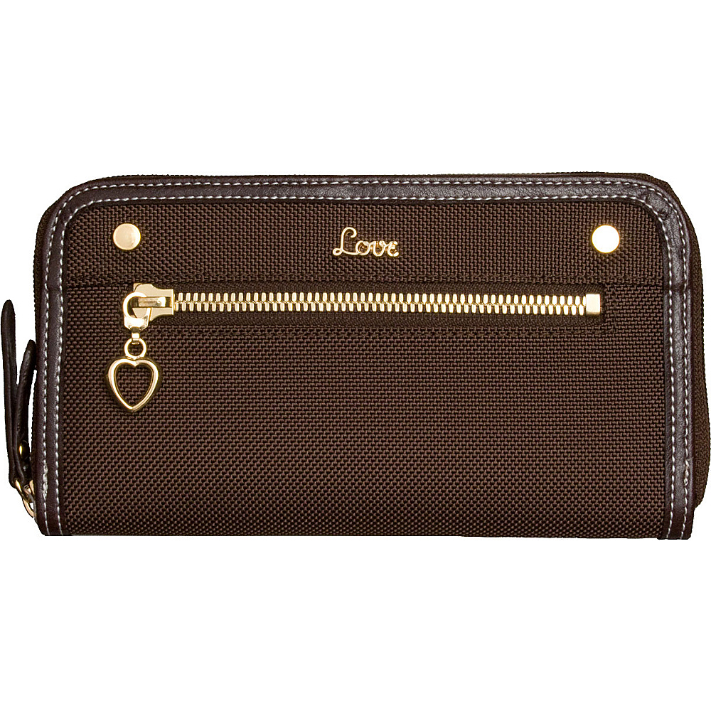 "Protec ""Love"" Wallet with Removable ID Holder"