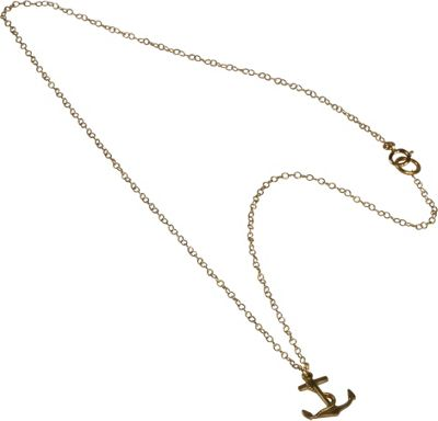 Apt. No 5 Anchor Charm Necklace