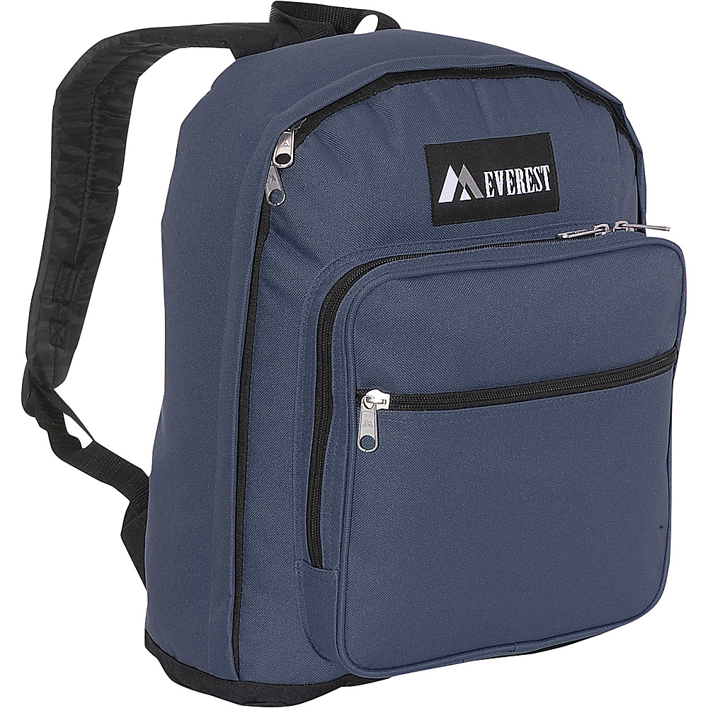 Everest Classic Backpack with Side Mesh Pocket - Backpacks, Everyday Backpacks