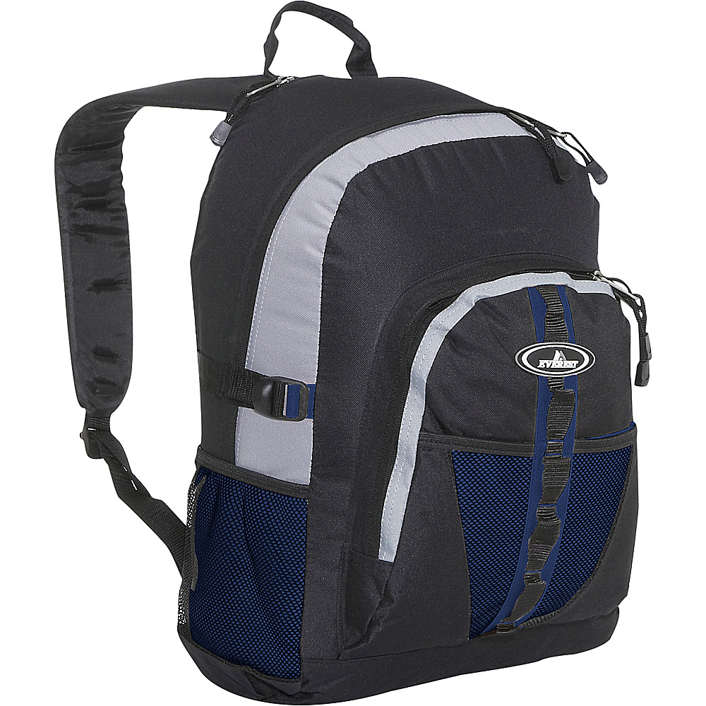 Everest Backpack with Dual Mesh Pocket - Backpacks, Everyday Backpacks