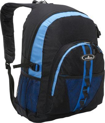 Everest Backpack with Dual Mesh Pocket Royal Blue/Blue/Black - Everest Everyday Backpacks