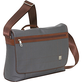 Saxby 15'' Laptop Slim Messenger Grey