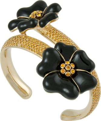 Michelle Monroe Double Flower Cuff