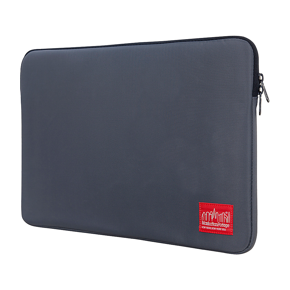 Manhattan Portage Nylon Laptop Sleeve (15) - Gray - Technology, Electronic Cases
