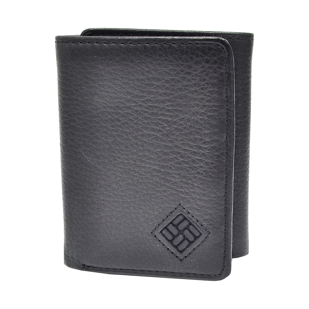 Columbia Trifold Wallet Black