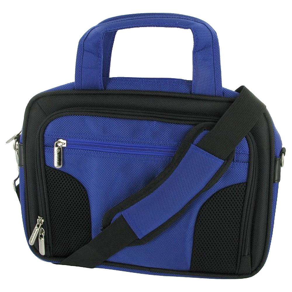 "rooCASE Deluxe Carrying Bag for iPad 2,  10"" and 11.6"" Netbook Dark Blue - rooCASE Non-Wheeled Business Cases"