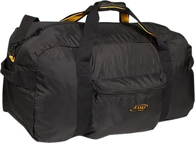 A. Saks 30 inch Lightweight Folding Duffel - Black