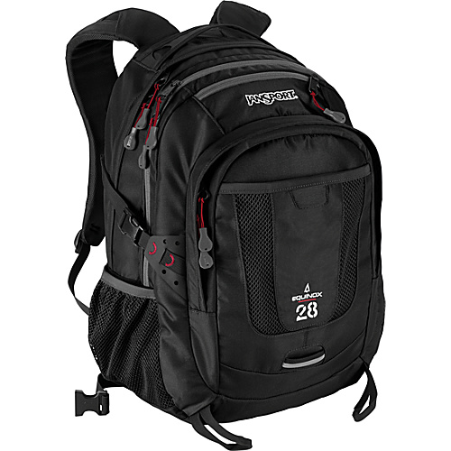 JanSport Equinox - Black - Backpacks, School & Day Hiking Backpacks