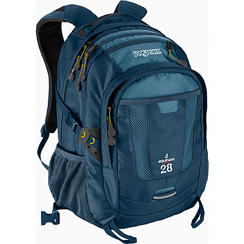JanSport Equinox - Bonsai Blue - Backpacks, School & Day Hiking Backpacks