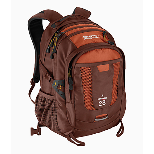 JanSport Equinox - Red Brown - Backpacks, School & Day Hiking Backpacks