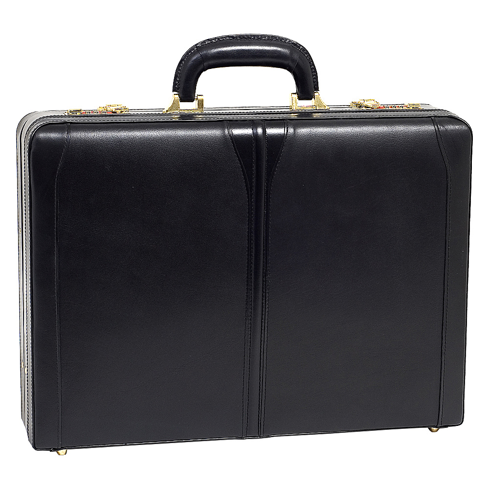 McKlein USA Turner Leather Expandable Attache Case - Work Bags & Briefcases, Non-Wheeled Business Cases