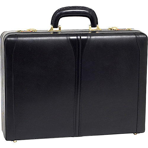 McKlein USA Turner Leather Expandable Attache Case