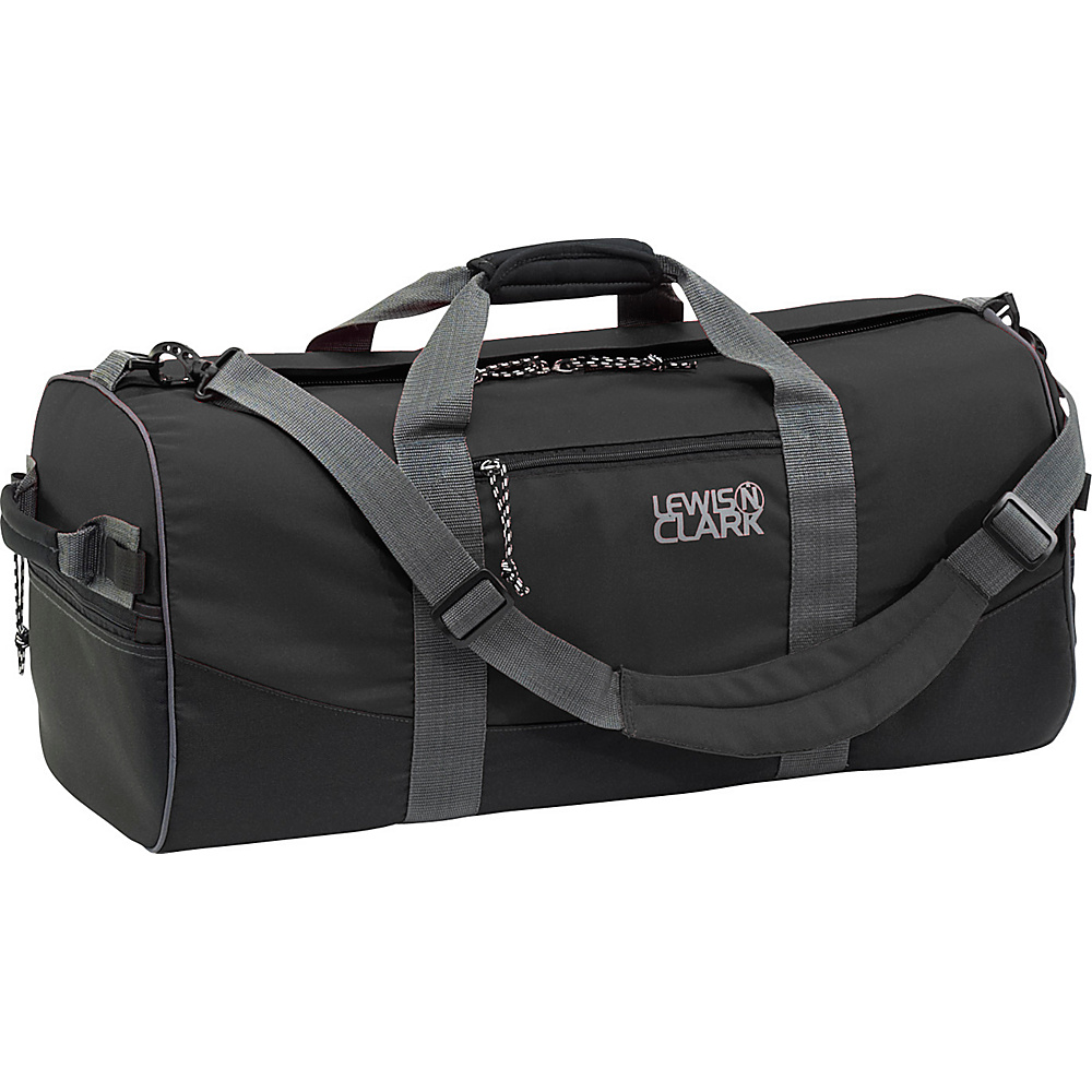 Lewis N. Clark Uncharted Duffel Bag - X-Small - Black - Luggage, Rolling Duffels