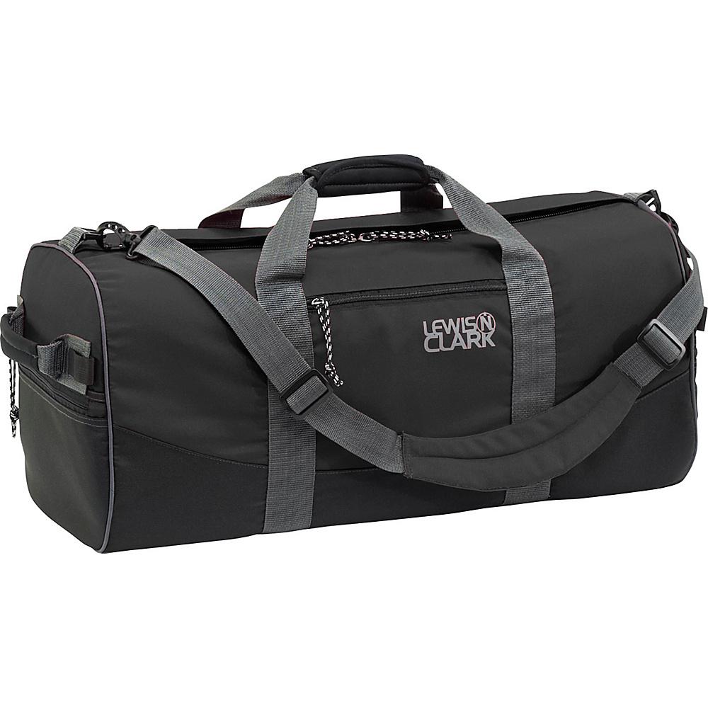 Lewis N. Clark Uncharted Duffel Bag - X-Small - Black - Duffels, Travel Duffels