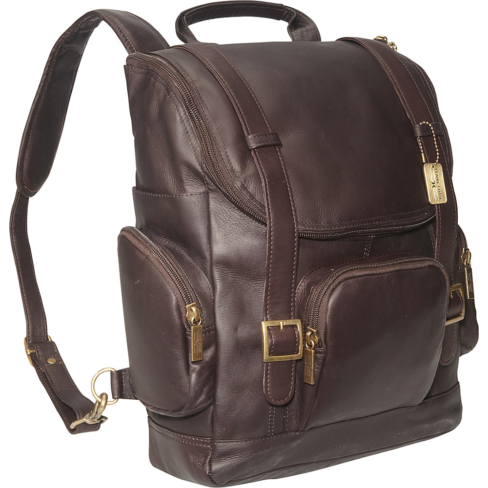 ClaireChase Portofino Laptop Backpack - Large - Cafe - Backpacks, Business & Laptop Backpacks