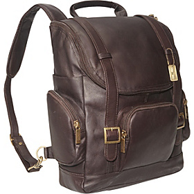 Portofino Laptop Backpack - Large Cafe