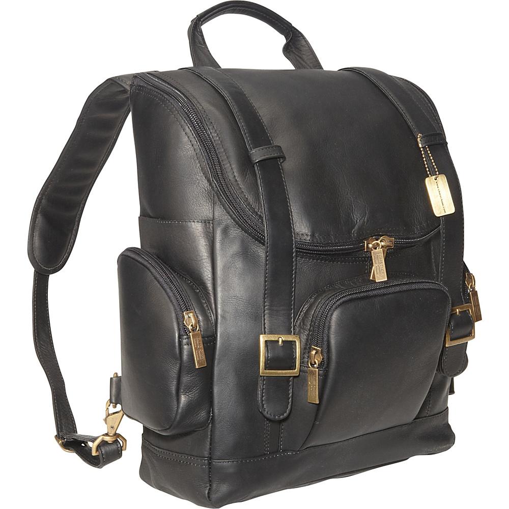 ClaireChase Portofino Laptop Backpack - Large - Black - Backpacks, Business & Laptop Backpacks