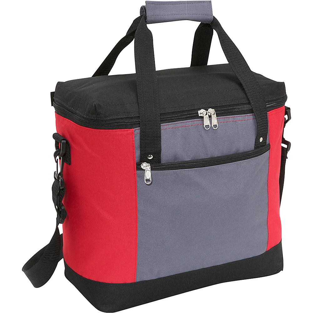 Picnic Time Montero Insulated Shoulder Tote - Red