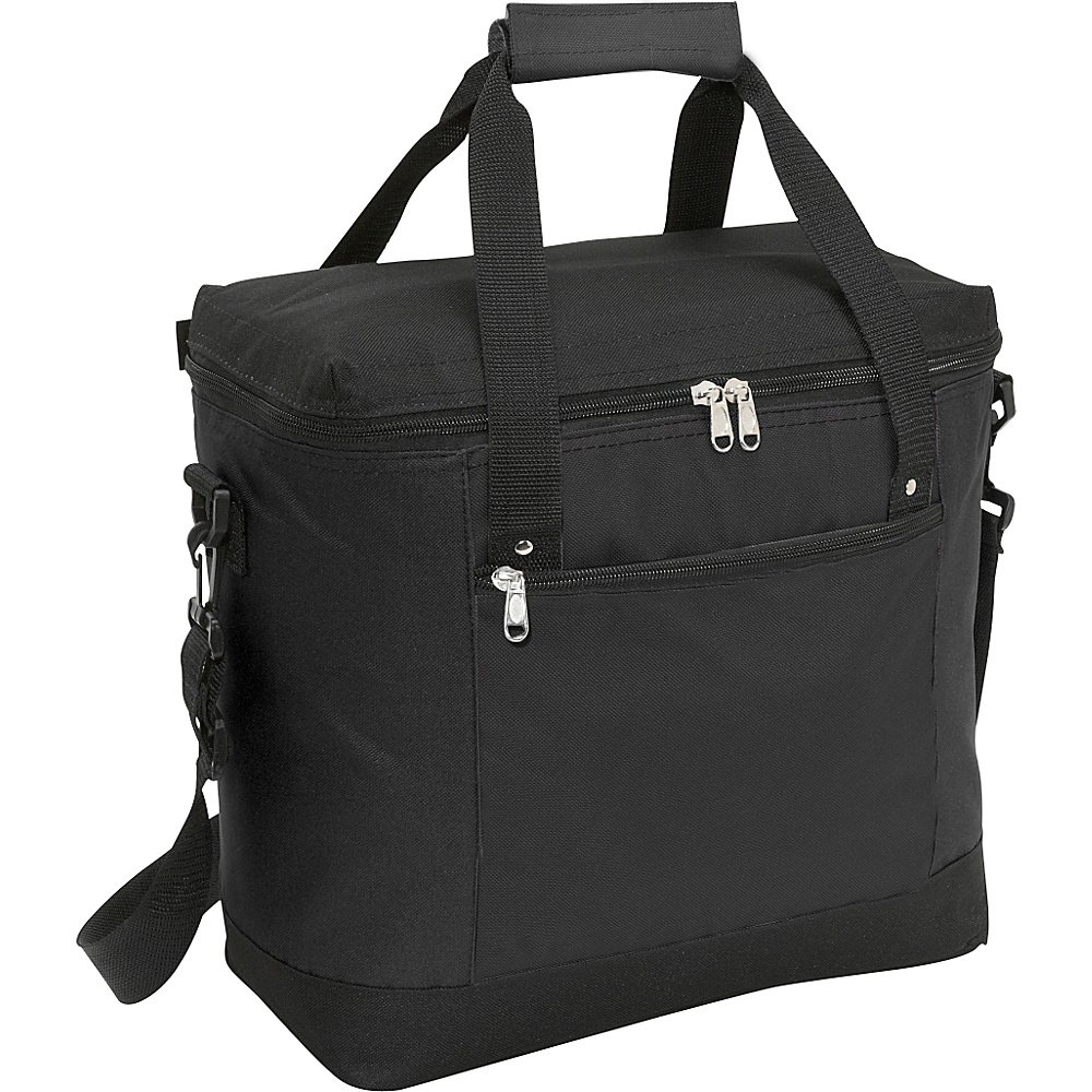 Picnic Time Montero Insulated Shoulder Tote Black